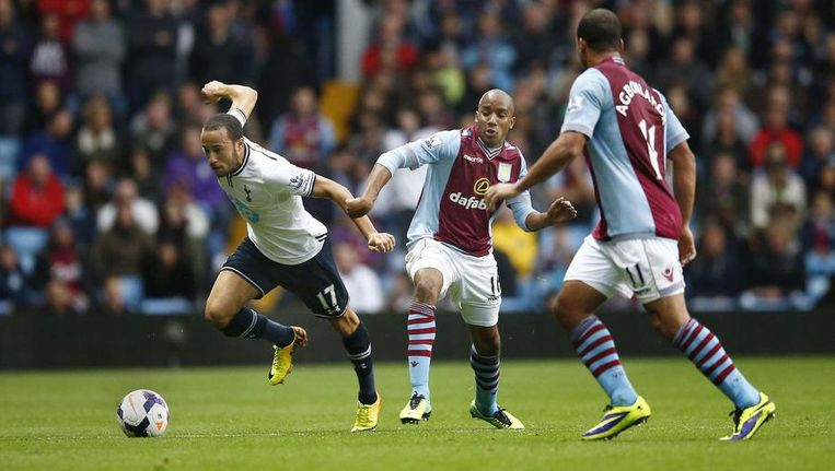 Andros Townsend was dikwijls alleen foutief af te stoppen. Beeld PHOTO_NEWS