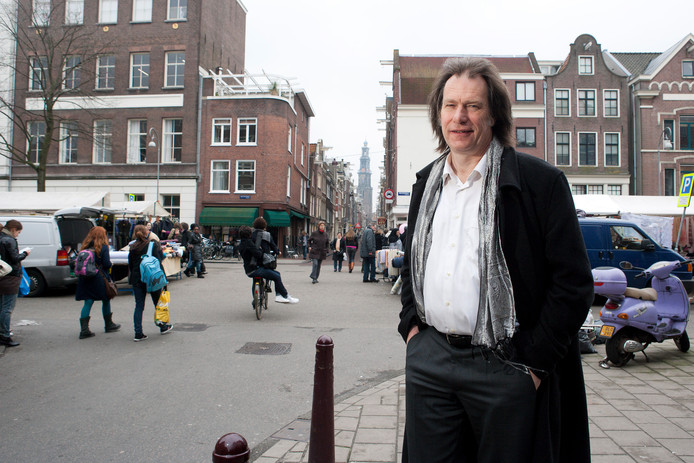 Architect Harry Abels in Amsterdam, foto uit 2011.