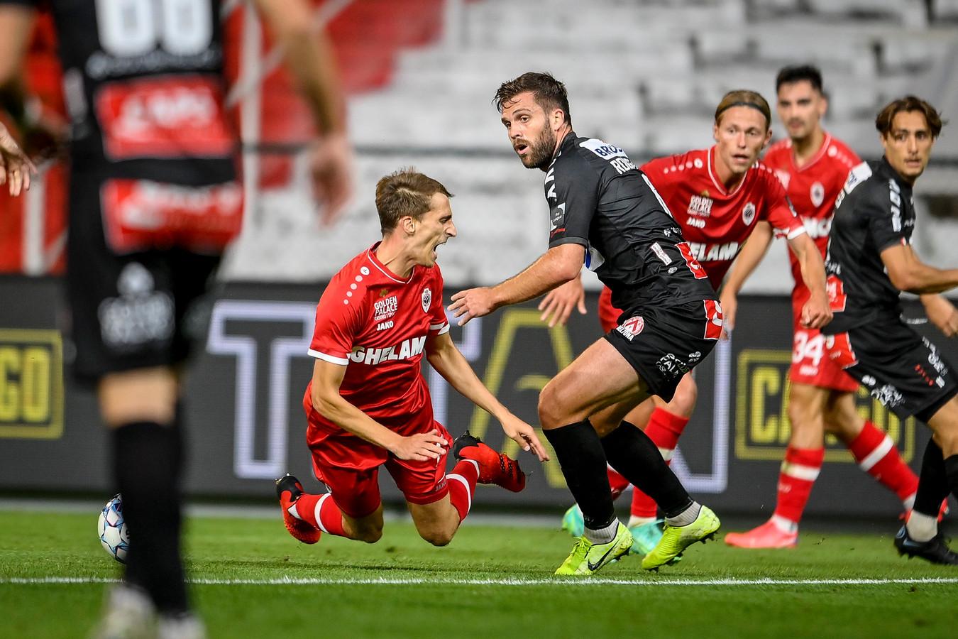Courtrai s'est imposé à l'Antwerp 0-1 (mi-temps: 0-0) en clôture de la 2e journée du championnat de Belgique de football, ce dimanche.
