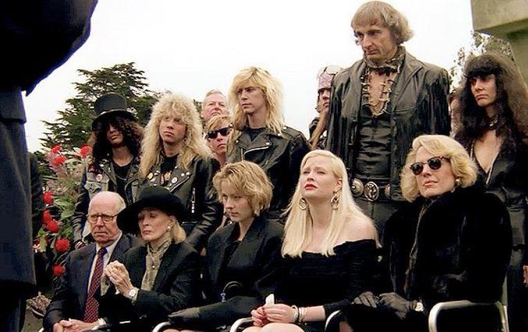 Guns 'n' Roses in The Dead Pool (1988). Beeld