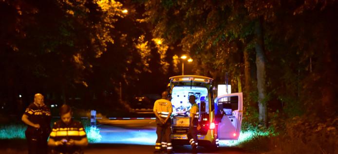 Bij de Noordersluis werd een gewonde man gevonden.