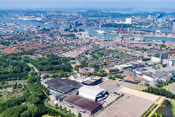 Het gebied bij Ahoy en Zuidplein maakt kans om de Cultuurcampus te huisvesten.