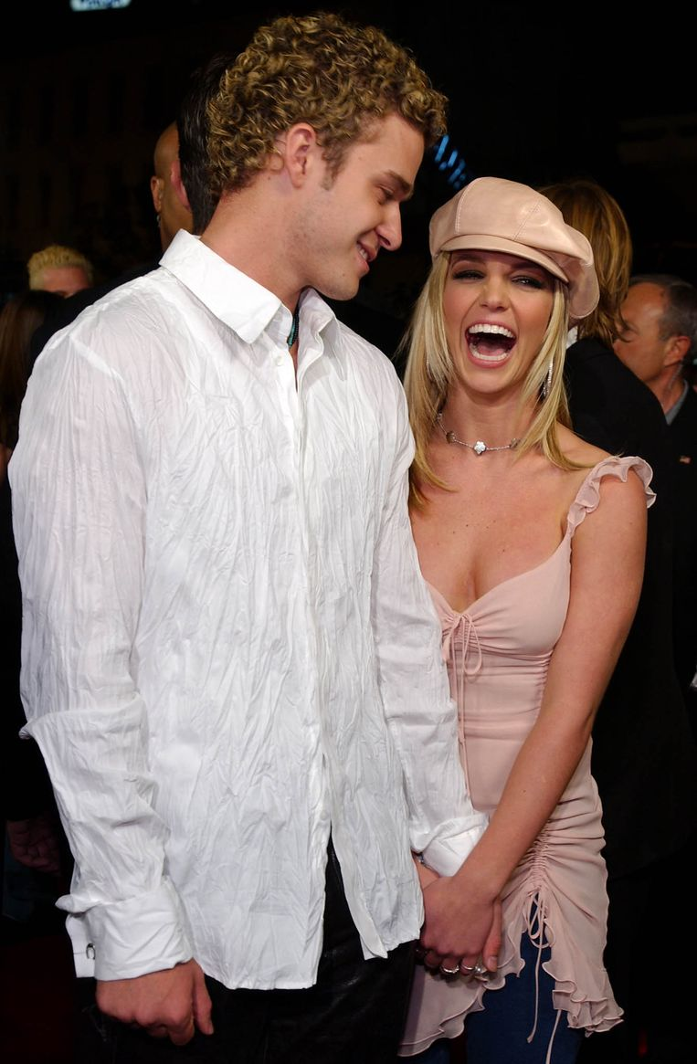 Justin Timberlake en Britney Spears Beeld AFP