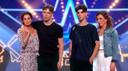 Rowan (l) en Tommy (r) tijdens de audities van Holland's Got Talent.