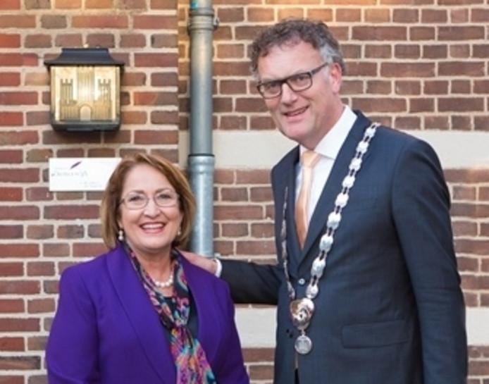 Burgemeester Teresa Jacobs van de Amerikaanse stad Orlando bezocht Oisterwijk.