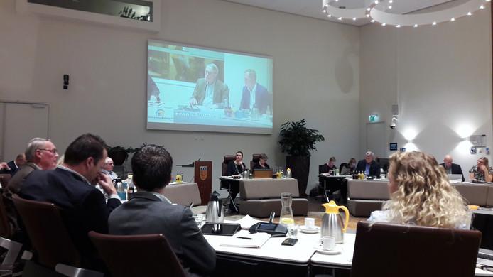 De gemeenteraad van Loon op Zand voor het laatst bijeen in 2018.