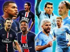 Paris Saint-Germain - Manchester City: duurste duel ooit? Zó gaven beide clubs miljarden euro's uit