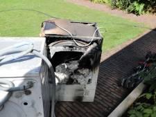 Wasdroger in brand in woning Sprang-Capelle