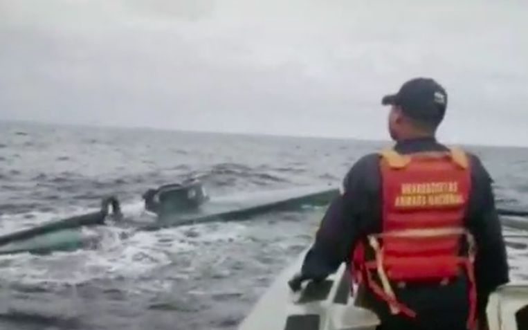 Het is de grootste drugsvangst ooit in een smokkelonderzeeër in Colombia.
