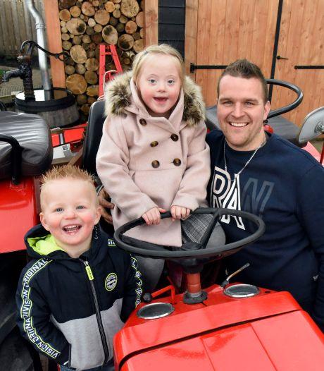 Gerco en Tineke hebben dochtertje met syndroom van Down: 'Zwaar? Het is genieten met Sanne!'