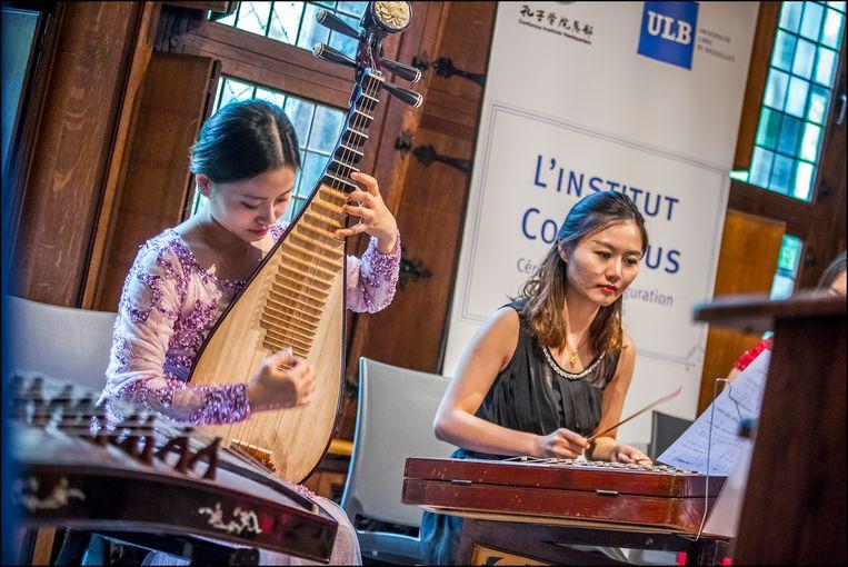 Confucius ULB Beeld Eric Danhier / EDanhier