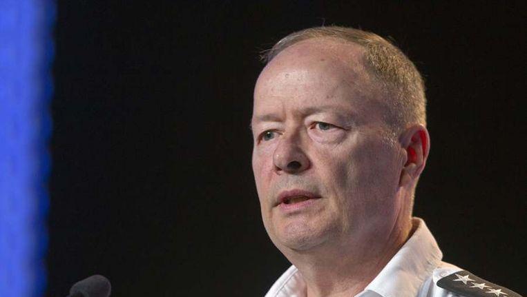 Keith Alexander, directeur van de NSA. Beeld reuters