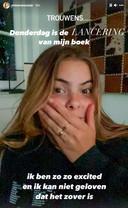 Eloise van Oranje kondigde eerdere deze week de lancering van haar boek aan