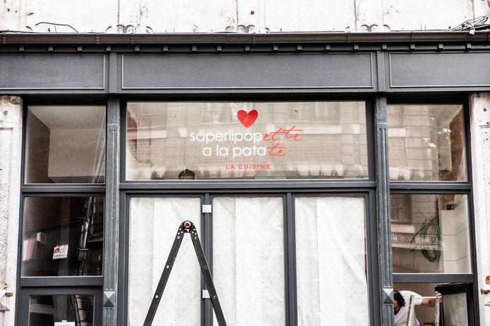 Une Gaufrette Saperlipopette ouvrira, en octobre, sa première friterie.