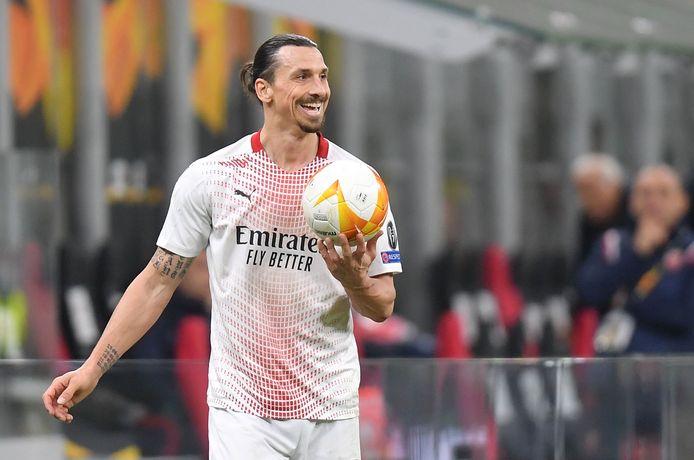 Ibrahimovic ontmoet zijn ex-club United.