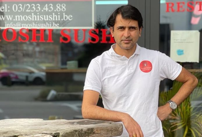 Santosh Paudel opent samen met zijn schoonbroer Restaurant Moshi Sushi in het centrum van Lille