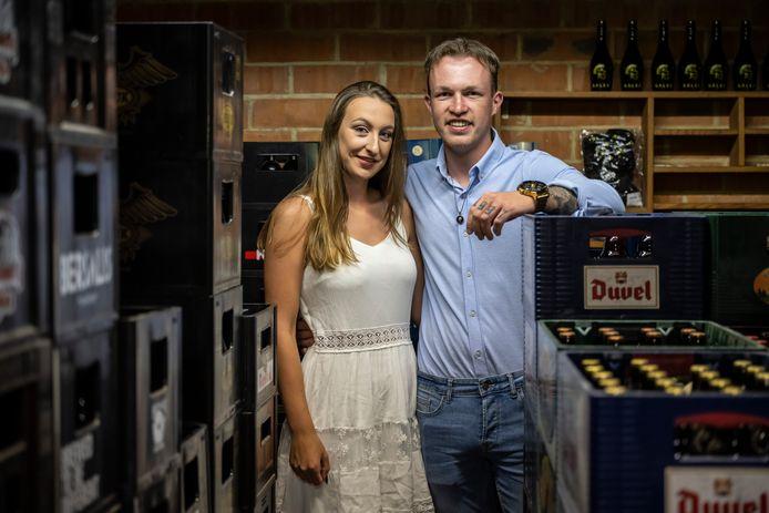 Sander en Elise runnen hun bierwebshop met hart en ziel.