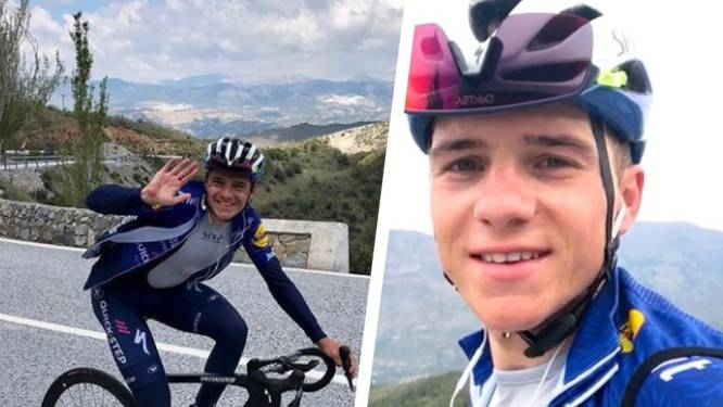 """Remco Evenepoel trainde laatste keer in Sierra Nevada: """"Nog wat werk om klaar te zijn voor start van Giro"""""""
