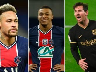Donnarumma in doel, Neymar, Mbappé én Messi voorin: het indrukwekkende elftal dat PSG binnenkort kan opstellen
