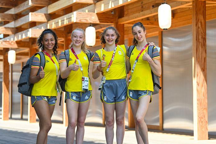 Nina Derwel emmènera la délégation de la gymnastique belge, qui participera également au concours par équipes.