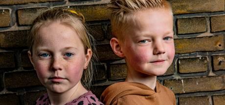 Joep (10) en Lotte (11) uit Zwolle vertellen over hun coronajaar: 'Gaat het door totdat ik zelf oud ben?'