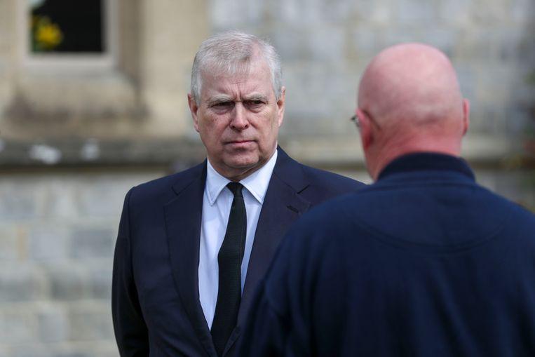 Prins Andrew heeft alle beschuldigingen van misbruik ontkend. Beeld AP