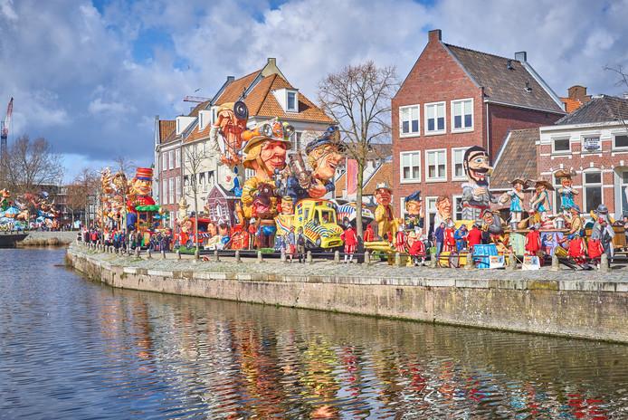 De nieuwe route van de optocht Bergen op Zoom