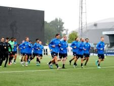 Rechtsbuiten Idumbo-Muzambo van Gent deze week op proef bij FC Eindhoven