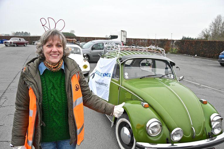 Heidi Vermeersch hoopt dat de politici luisteren naar het signaal van oldtimerliefhebbers.