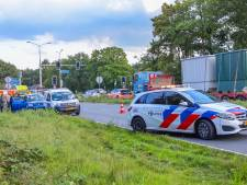 Fietser geschept door auto in Amersfoort