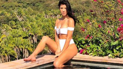Kourtney Kardashian (38) weegt amper 16 kilo meer dan haar 8-jarige zoon