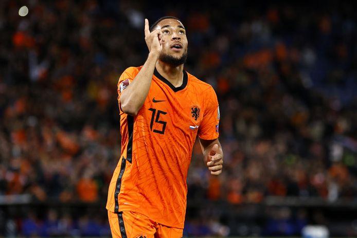 Arnaut Danjuma Groeneveld maakte de 5-0 voor Oranje.