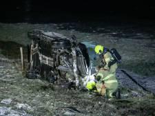 19-jarige automobilist uit Doesburg slaat over de kop en raakt zwaargewond op A348 bij Rheden