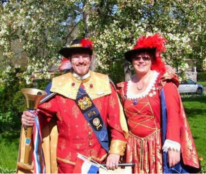 René en zijn vrouw Yvonne