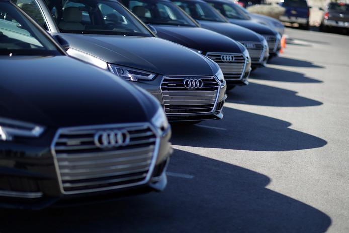 Audi A4. Foto ter illustratie.