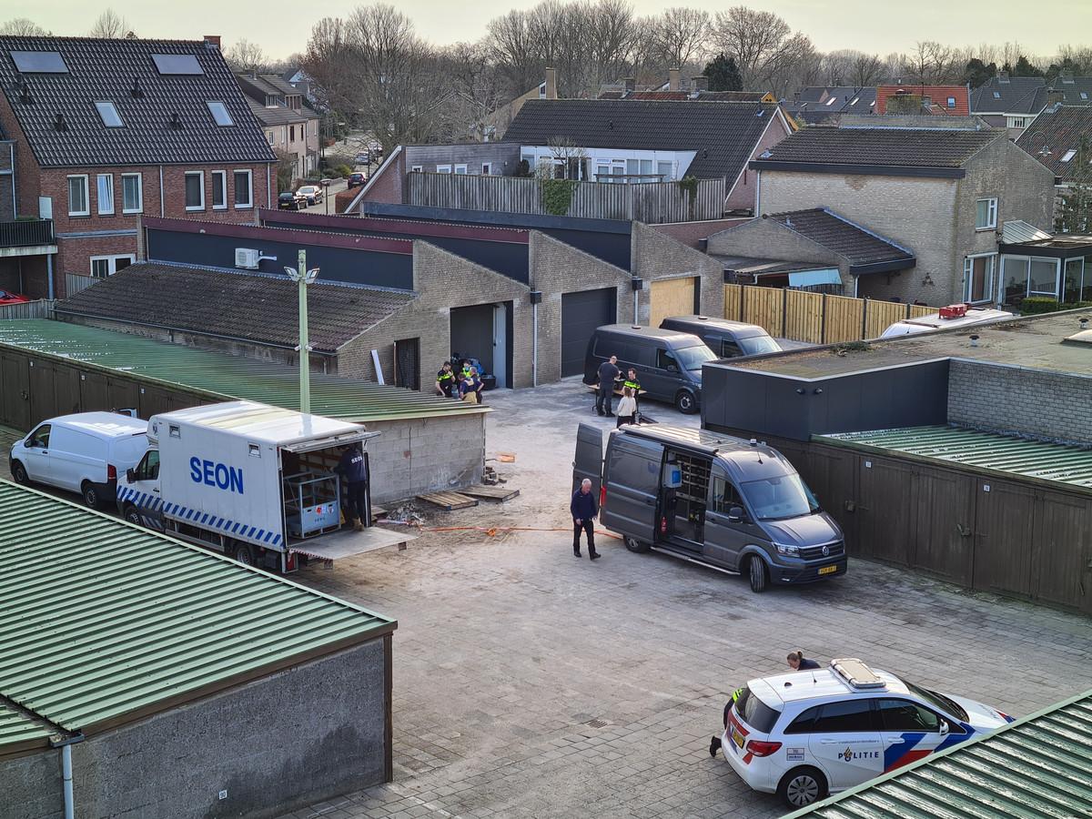 Het binnenterrein tussen de Peellandstraat, de Hoofdstraat en De Kempen in Veghel.