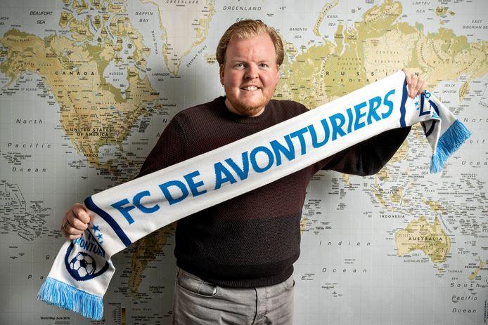 Dick Teunen is oprichter van social platform FC De Avonturiers.
