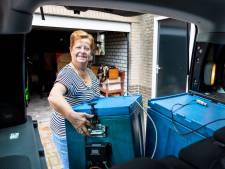 Van slagersvrouw tot spermakoerier: Ricky van Dongen rijdt al 25 jaar door Brabant