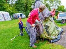 Duitsers blijven massaal thuis, campings Liemers staan leeg