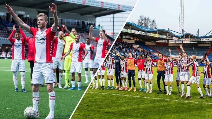 De clubwatchers van Willem II vinden dat FC Emmen bevoordeeld wordt.