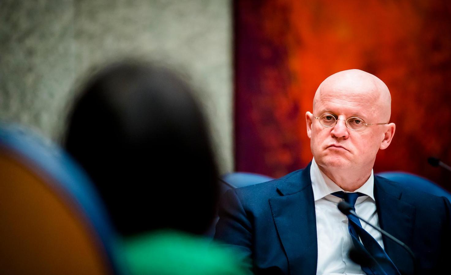 Minister Ferdinand Grapperhaus van Justitie en Veiligheid (CDA) was eerder advocaat in Amsterdam