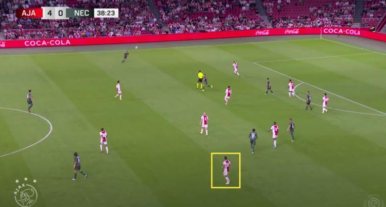 null Beeld Screenshot YouTube-kanaal Ajax (beeld ESPN)