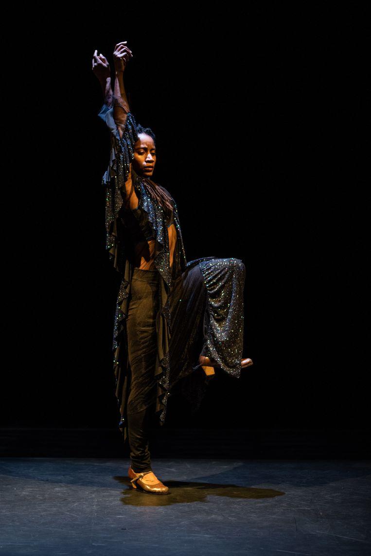 Holland Festival 2021: Mailles van zangeres en choreograaf Dorothée Munyaneza. Beeld Bart Grietens