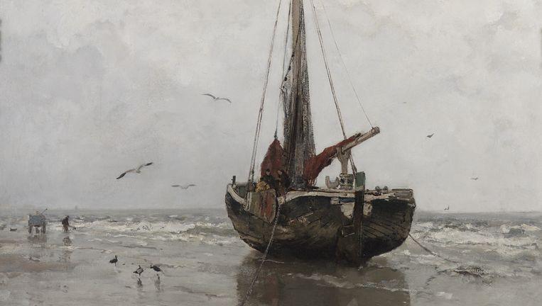 Jacob Maris: Bomschuit (1878). Beeld null