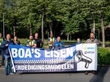 Boa's schrijven geen bonnen uit en demonstreren