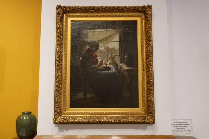 Voor het werk 'Armoede' van Jan Voerman senior is het Voerman Museum Hattem gestart met een crowdfundingsactie.