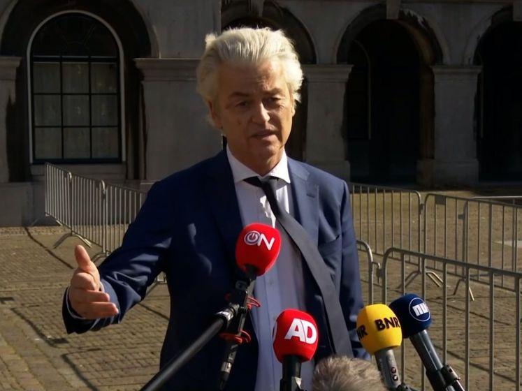 Wilders pleit weer voor nieuwe verkiezingen na nieuwe info toeslagenaffaire