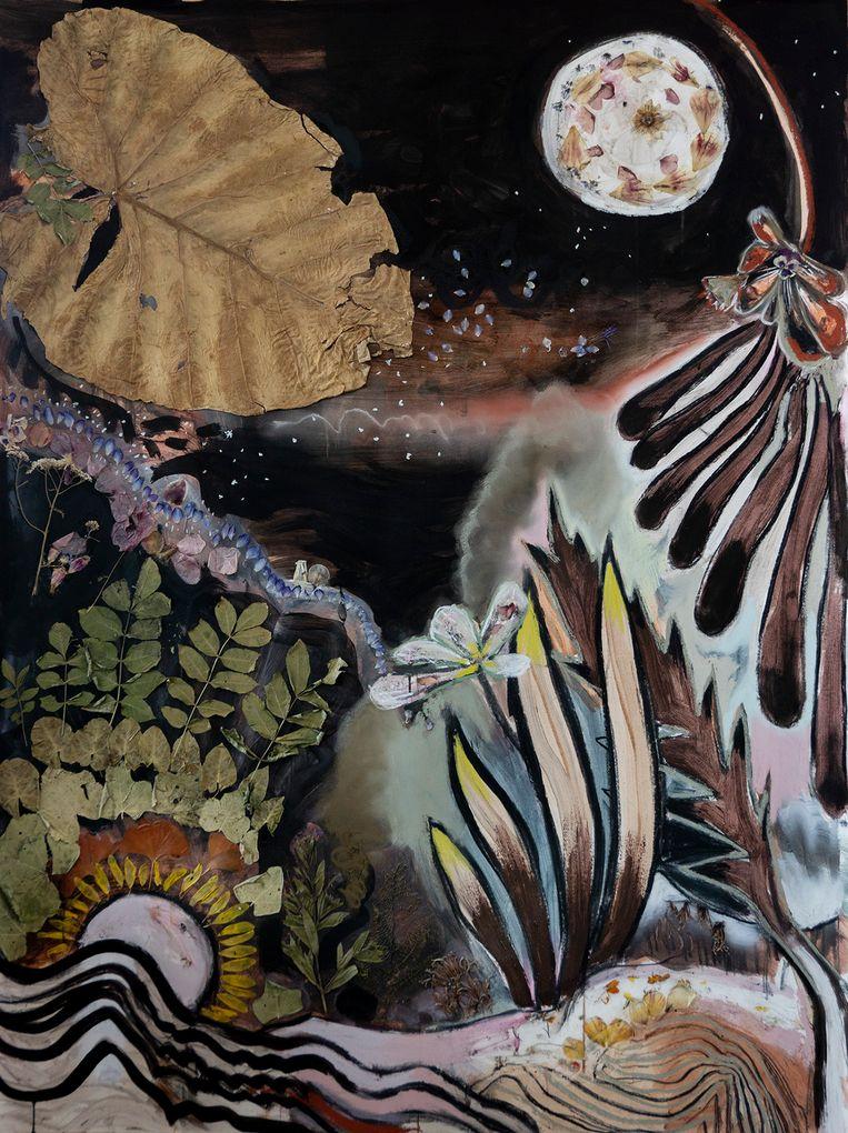 Jonat Deelstra, Sophie Steengracht - Lunambulist. T/m 25 juli in GoMulan Gallery. Beeld