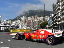 Raikkonen kust de vangrail in Monaco