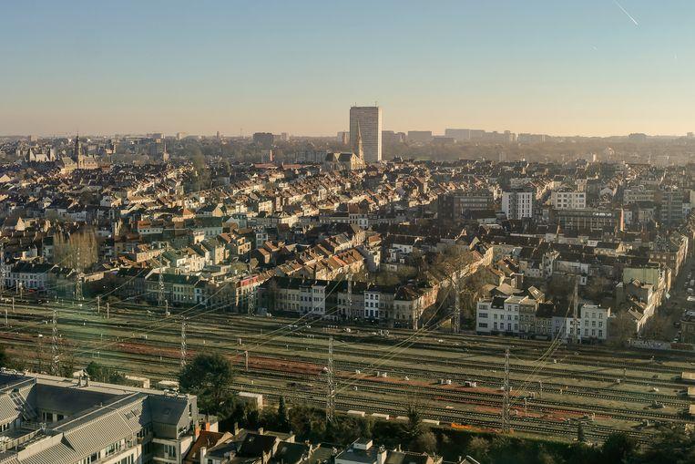 skyline Brussel Beeld Marc baert